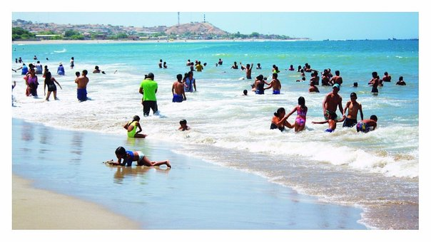 Solo una playa de Tumbes es saludable