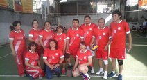 ​Juegan semifinales y final en voley mixto magisterial