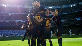 Barcelona derrotó 3-0 a Real Madrid en el Santiago Bernabéu (VIDEO)