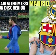 ​Derrota del Real Madrid ante Barcelona dejó divertidos memes (FOTOS)