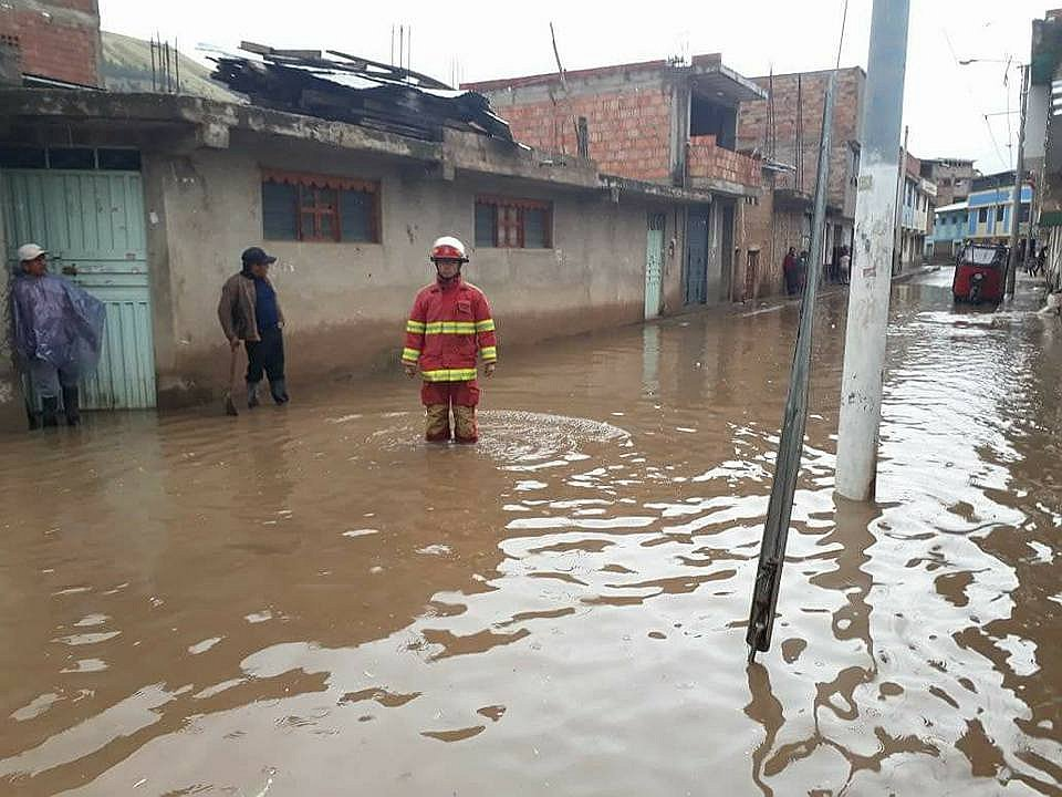 Intensas lluvias causan estragos en Sicuani - Cusco (FOTOS)