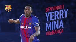 Barcelona concreta el pase del defensa colombiano Yerry Mina
