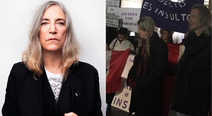 Icono del punk Patti Smith se sumó a las protestas contra indulto a Fujimori (VIDEO)