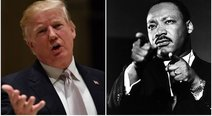 Donald Trump niega ser racista, mientras EE.UU. celebra a Martin Luther King