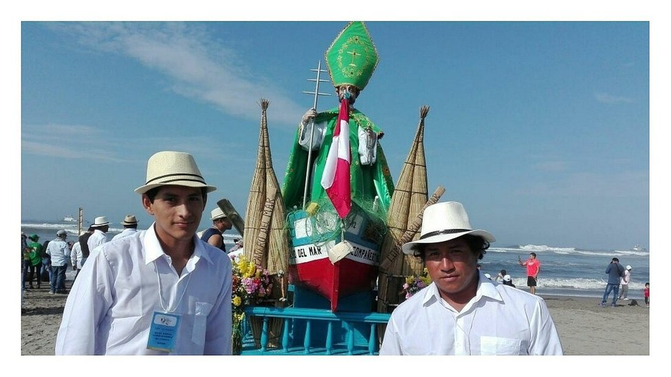 San Pedrito a la espera del Papa Francisco (FOTOS Y VIDEO)
