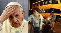 Asaltan bus con 56 pasajeros que regresaban de ver al papa Francisco