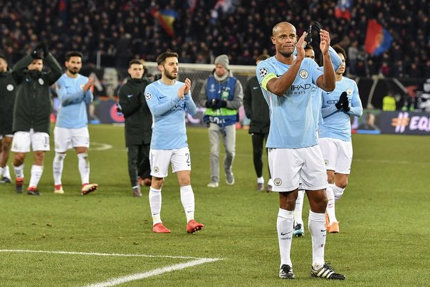 Champions League: Manchester City goleó 4-0 al Basilea por la ida de octavos de final (VIDEO)