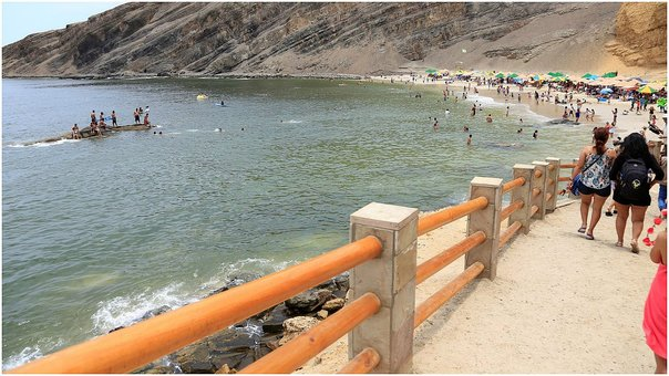 Playa La Mina en Paracas es calificada como 'No saludable'