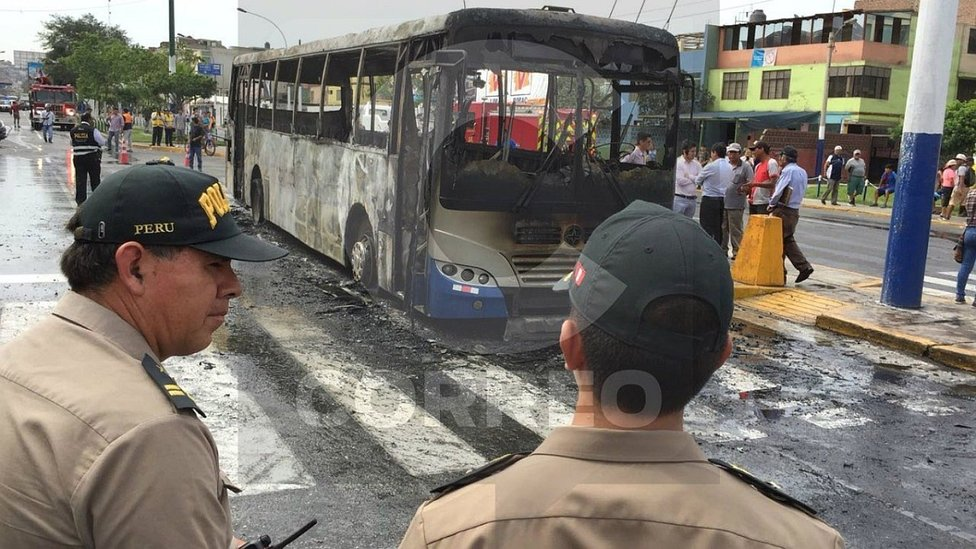 Protransporte: Accidente de bus en el Rímac se debió a desperfectos técnicos (FOTOS Y VIDEO)