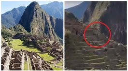 Captan objeto volador no identificado en Machu Picchu (VIDEO)