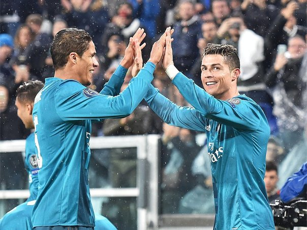 Champions League: Real Madrid goleó 3-0 a Juventus en la ida de cuartos de final (FOTOS)