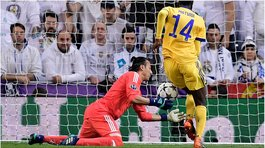 ​Real Madrid: 'blooper' de Keylor Navas provocó el tercer gol de la Juventus (VIDEO)