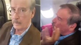 ​Vicente Fox fue increpado por recibir pensión vitalicia como expresidente mexicano (VIDEO)