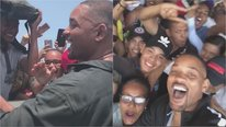 ​Will Smith muestra en Instagram lo bien que lo pasa en Colombia (VIDEO)