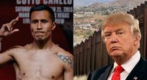 YouTube: boxeador mexicano derribó el 'muro fronterizo' de Donald Trump