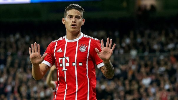 Champions League: James Rodríguez no festejó el gol que le marcó al Real Madrid (VIDEO)
