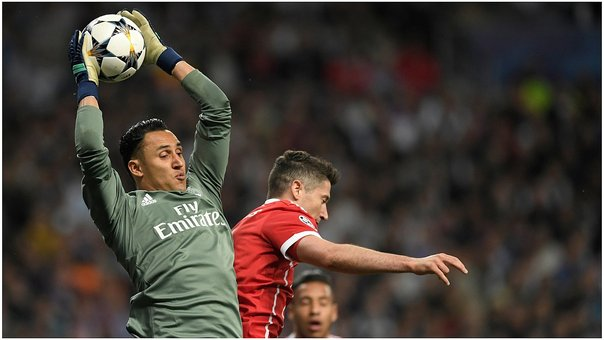 Keylor Navas se lució con espectaculares atajadas en el Real Madrid vs Bayern Munich (VIDEO)