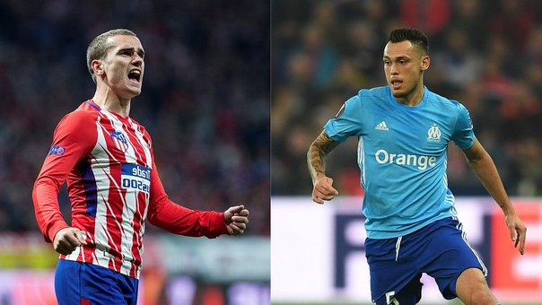 Europa League: Atlético de Madrid y Olympique de Marsella jugarán la final