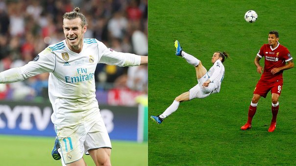 Champions League: Revive el soberbio gol de 'chalaca' de Gareth Bale ante Liverpool (VIDEO)
