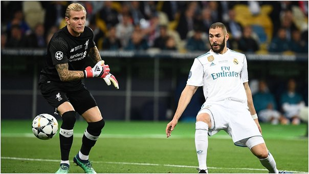​Portero de Liverpool cometió garrafal error en gol del Real Madrid (VIDEO)