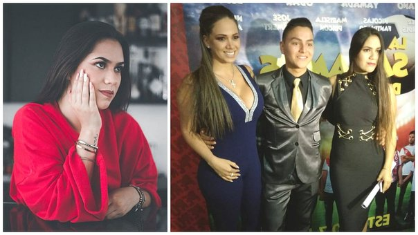Hija mayor de Melissa Klug recibió elogios del cantante Christian Showing (FOTO)