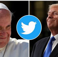 "Donald Trump ""destronó"" al papa Francisco en Twitter (FOTOS)"