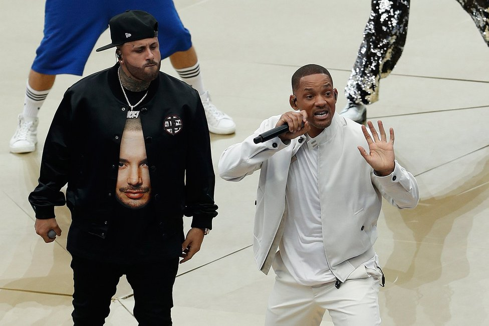 Clausura de Rusia 2018: Nicky Jam y Will Smith cantaron en la previa de la final (FOTOS)