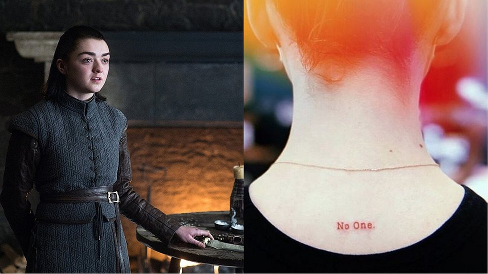 Game of Thrones: Maisie Williams se despide de la serie con tatuaje (FOTOS)