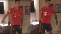 YouTube: James Rodríguez vuelve al Bayern Múnich y se une a baile viral (VIDEO)