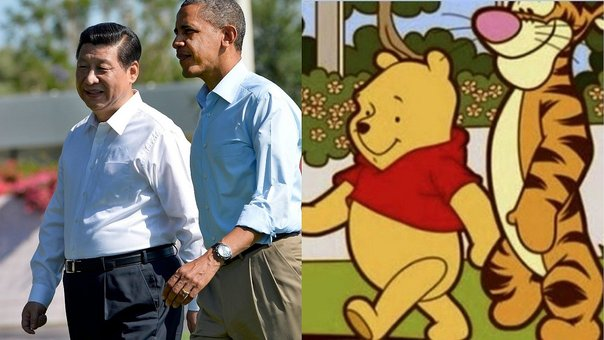 Censuran en China a Winnie the Pooh por comparaciones con Xi Jinping (FOTOS)