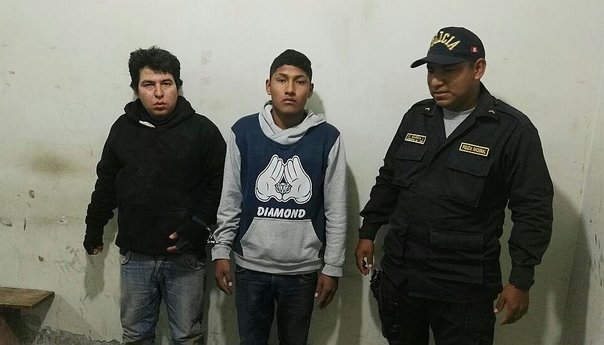"Chiclayo: Capturan a dos de ""LosTerribles de la Gallera"" por robo"