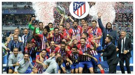 ​Atlético de Madrid superó 4-2 al Real Madrid en la final de la Supercopa de Europa