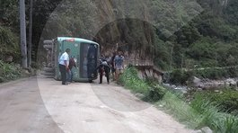 Indecopi investiga accidente de bus en ruta a Machu Picchu