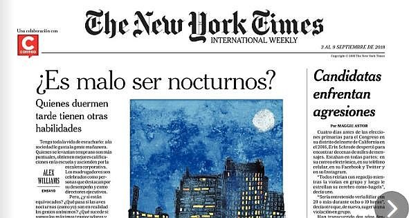 The New York Times en Correo: ¿Es malo ser nocturnos?