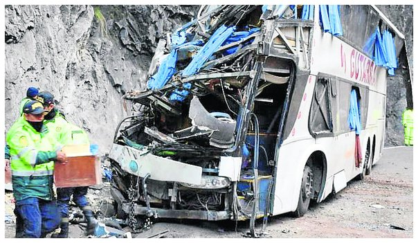 Dan ultimátum a empresas de transportes para que paren accidentes