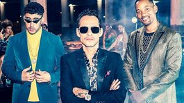 "Mira el detrás de cámaras de ""Está rico"", tema que reúne a Marc Anthony, Bad Bunny y Will Smith (VIDEO)"