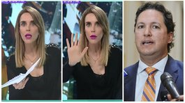 "Juliana Oxenford llamó ""maleducado"" a Daniel Salaverry en pleno noticiero (VIDEO)"
