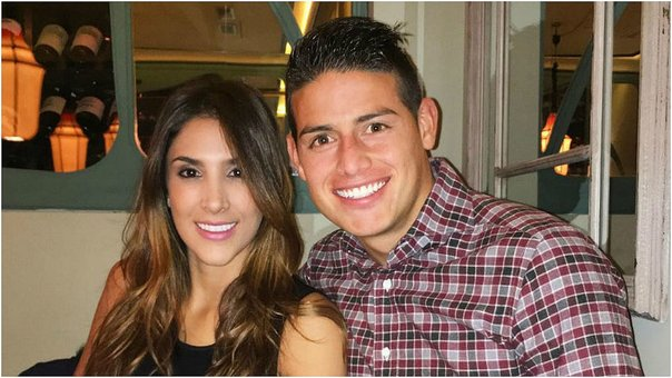 Critican a la ex pareja de James Rodriguez por tocamientos indebidos (VIDEO)