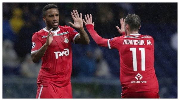 ​Champions League: gol de Jefferson Farfán en el Porto vs Lokomotiv (VIDEO)