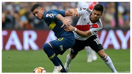 ​Boca Juniors vs River Plate: revive los goles del primer tiempo (VIDEO)