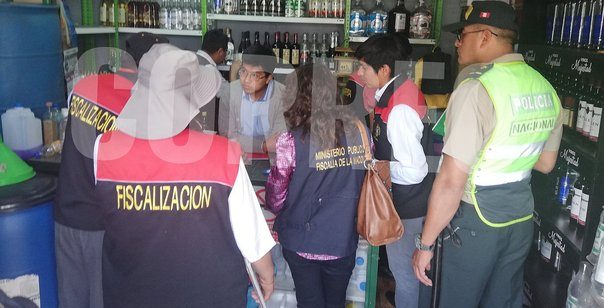 Clausuran local de venta de licor en Miraflores
