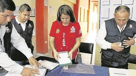 Llega a Tumbes material electoral