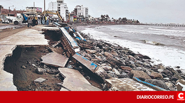 Proponen proteger Huanchaco ante oleajes con geotubos