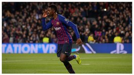 ​Barcelona vs Tottenham: Dembélé anotó espectacular gol en la Champions League (VIDEO)