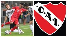 Hinchas de Independiente de Avellaneda le dedican video a Christian Cueva (VIDEO)