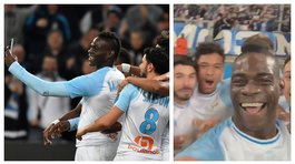 ​Mario Balotelli anota golazo y retransmite en directo la celebración (VIDEO)