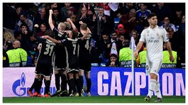 Real Madrid eliminado de la Champions League al caer 1-4 ante Ajax (VIDEO)