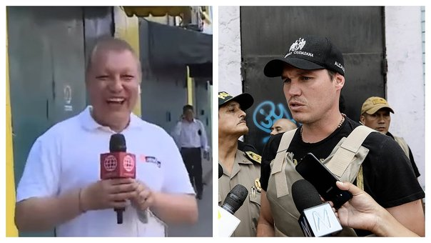 ​Confunden a periodista Gunter Rave con George Forsyth (VIDEO)