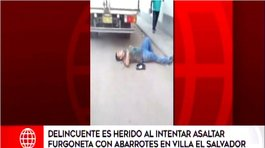 "Delincuente es herido tras intentar cometer asalto: ""Una ambulancia, por favor"" (VIDEO)"
