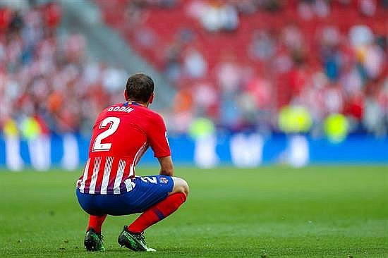 Diego Godín le dice adiós al Atlético de Madrid (FOTOS Y VIDEO)